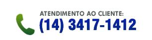 Atendimento ao cliente: (14) 3417-1412